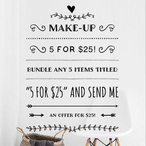 Ulta Beauty Makeup - 5 for $25! FULL SIZE Ulta Plush Drama Mascara